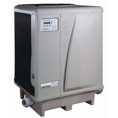 125,000 BTU, 230V, Heat/Cool, Titanium, Digital, Pool and Spa Heat Pump (Almond)