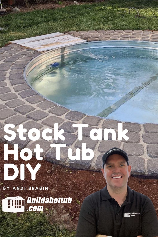 Stock Tank Hot Tub DIY